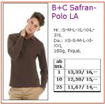 B+C Safran Polo Langarm