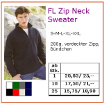 FL Zip Neck Sweater