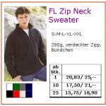 FL Zip Neck Sweater