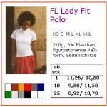FL lady Fit Polo