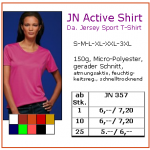 JN Ladies Active Shirt