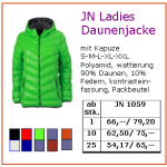 JN Ladies Daunenjacke