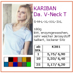 Kariban Ladies V-Neck