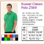RUSSEL Classic Polo