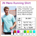 JN Mens Running Shirt