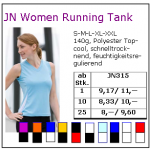 JN Women Running Tank