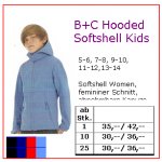 b+c hooded softshell