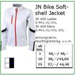 jn bike softshell jacket